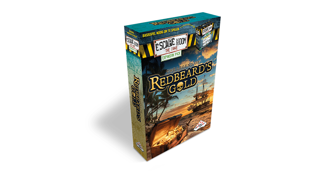 Escape Room The Game uitbreiding The Legend of Redbeard's Gold