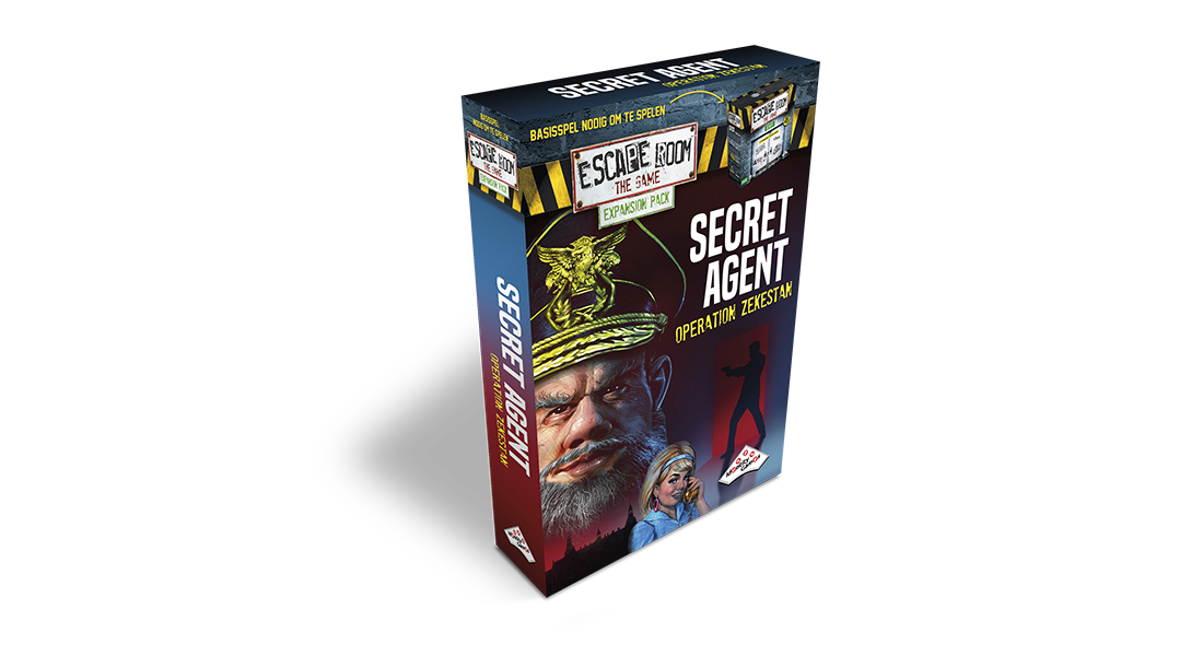 Escape Room The Game uitbreiding Secret Agent