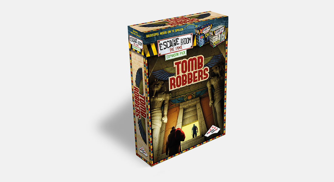 Escape Room The Game uitbreiding Tomb Robbers
