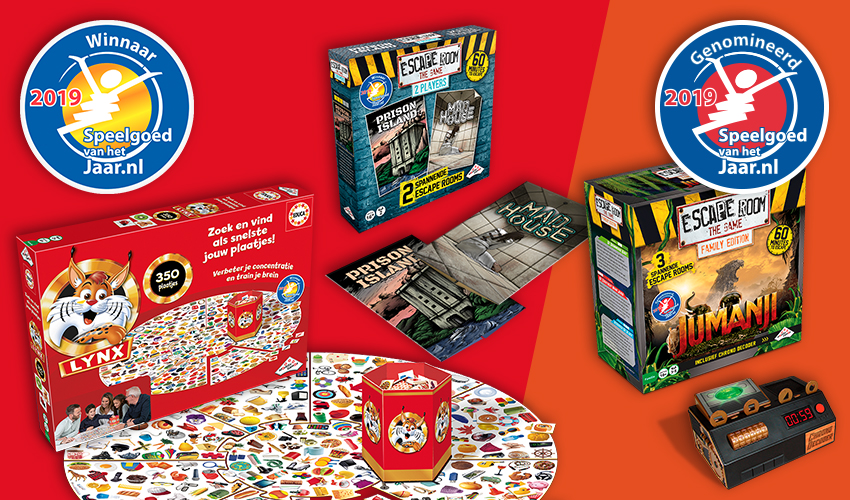 Identity Games sleept twee prijzen in de wacht tijdens Speelgoed van het Jaar verkiezing