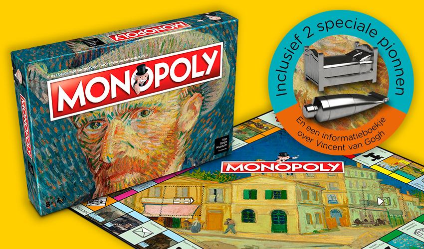 Lancering Van Gogh Museum Monopoly