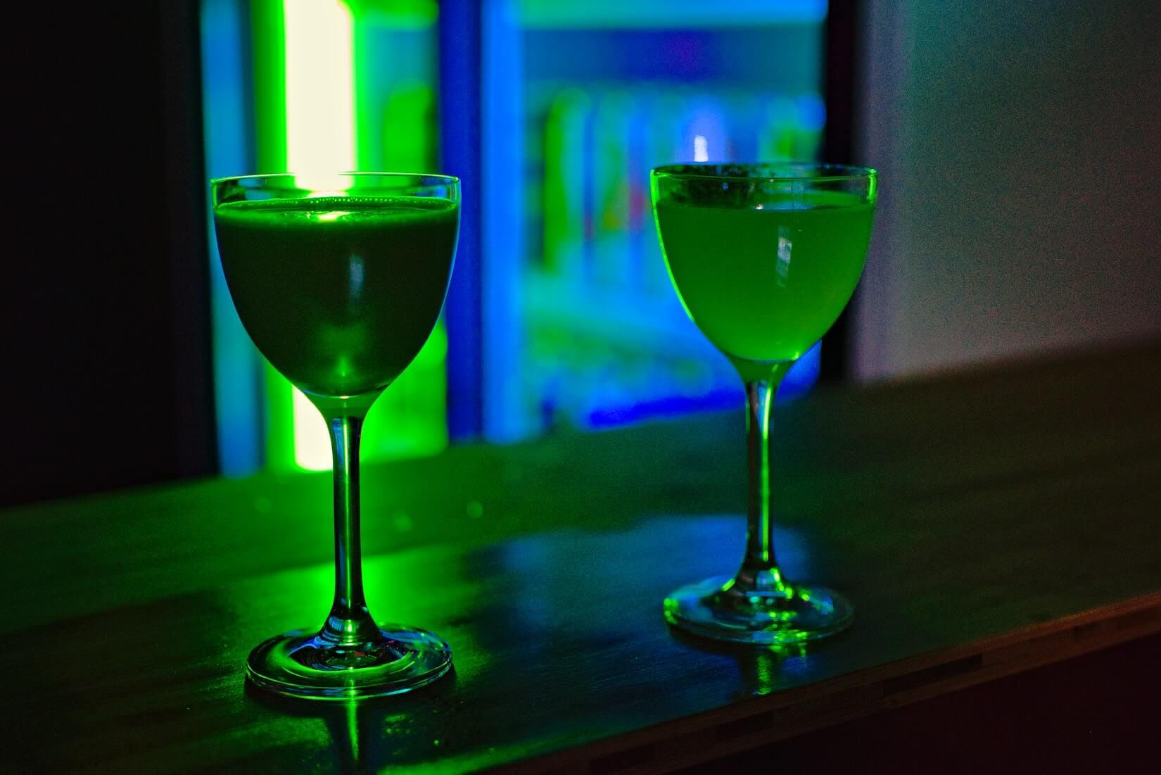gifgroene cocktail