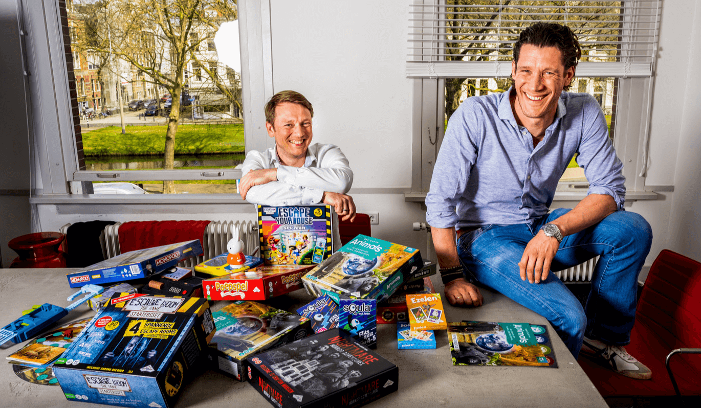 Jan-Maurits DuParc en Jeroen Nugteren van Identity Games