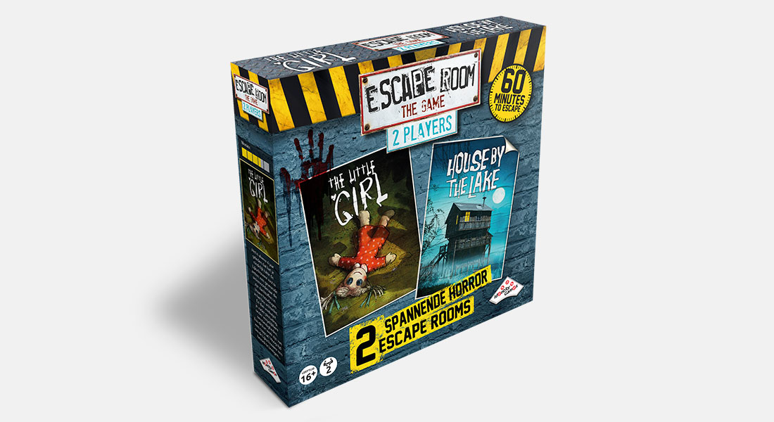 Escape Room The Game 2 Players Horror