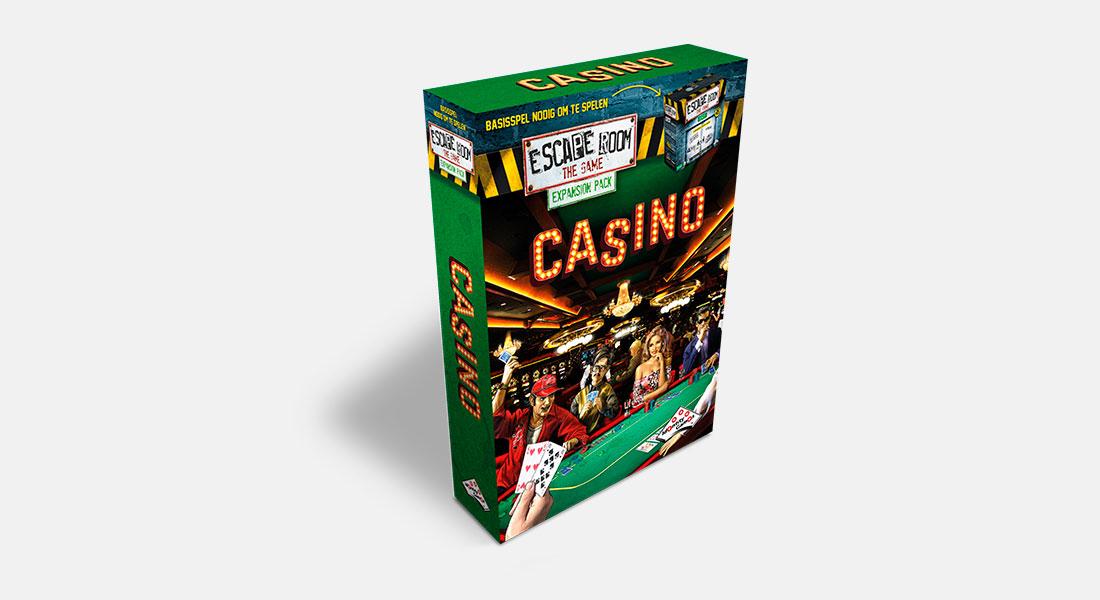 Escape Room The Game uitbreiding Casino