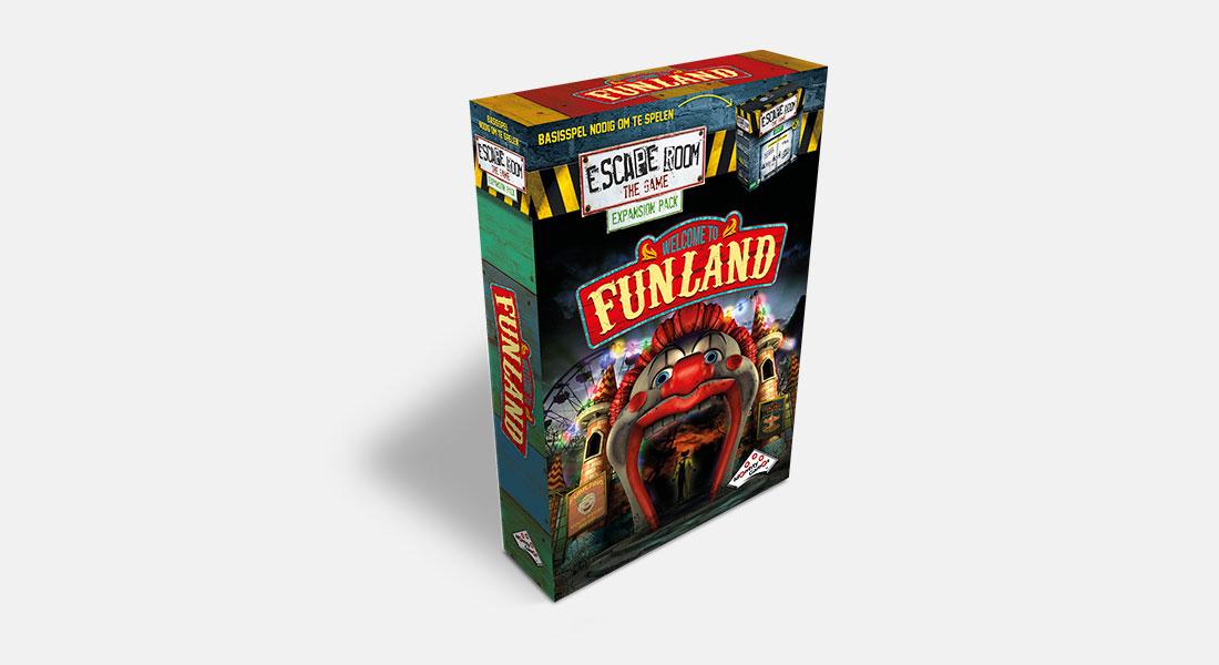 Escape Room The Game uitbreiding Funland