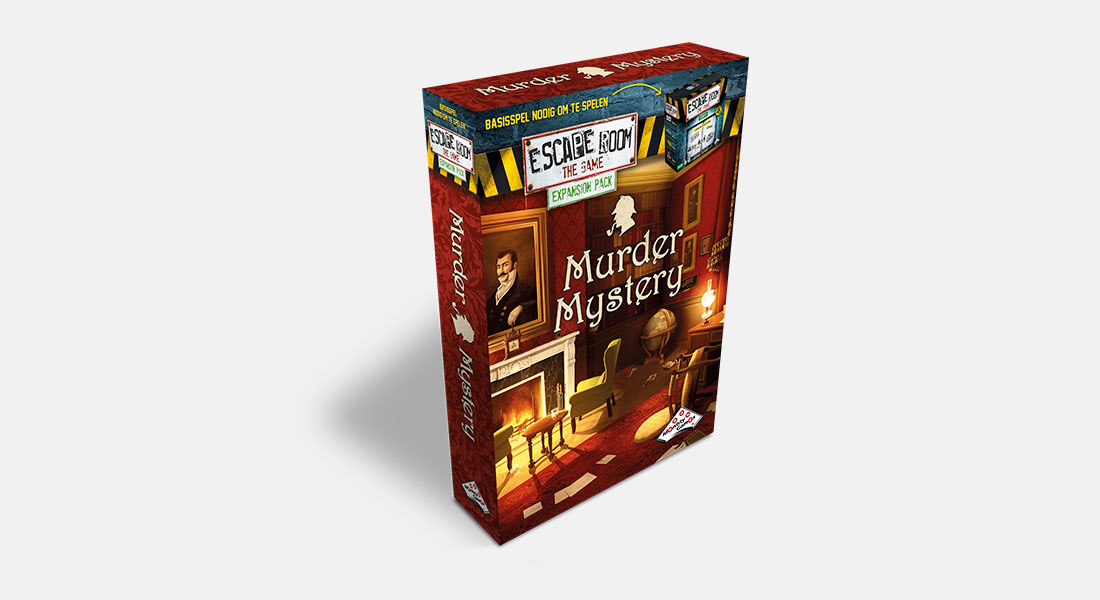 Escape Room The Game uitbreiding Murder Mystery