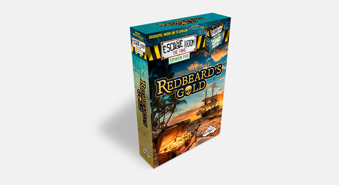 Escape Room The Game uitbreiding The Legend of Redbeard's Gold