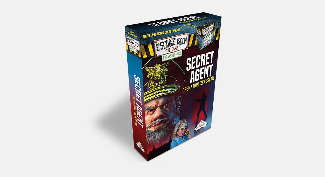 Escape Room The Game uitbreiding Secret Agent