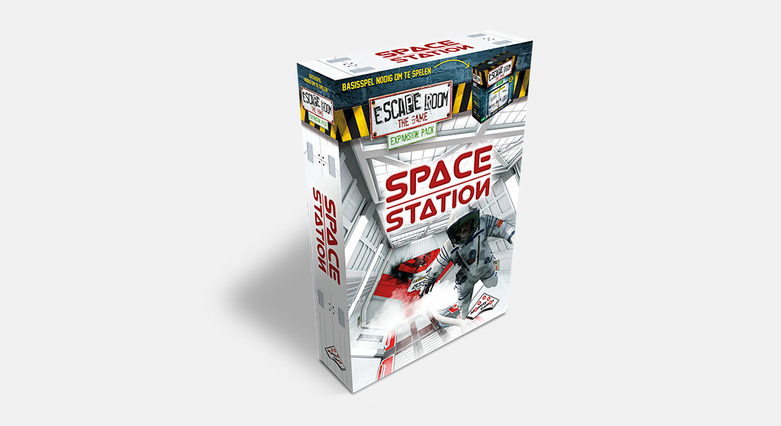 Escape Room The Game uitbreiding Space Station